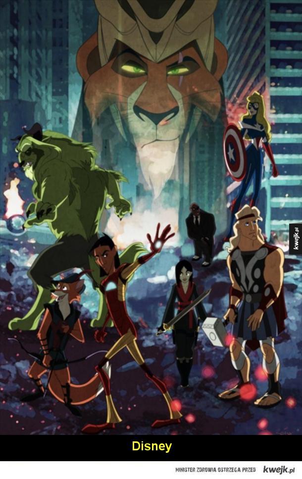 Najlepsze mashupy z Avengersami
