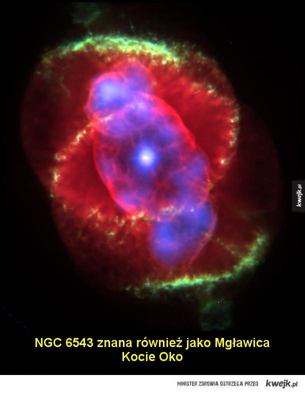 Niezwykłe piękno mgławic planetarnych