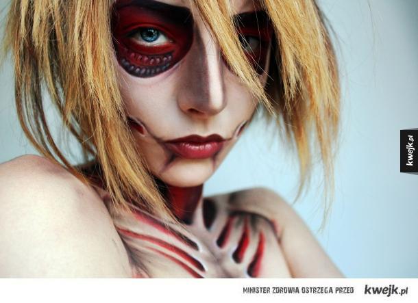 Niesamowite makeupy autorstwa Florea Flavi