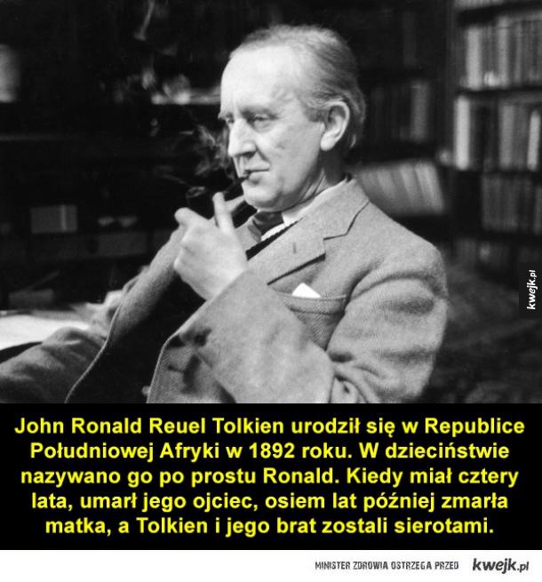 Ciekawostki z życia J.R.R. Tolkiena