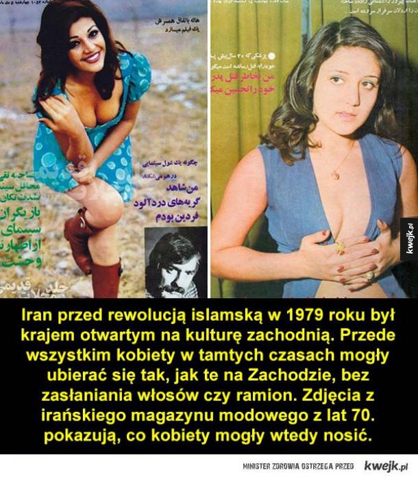 Irańskie kobiety w latach 70.
