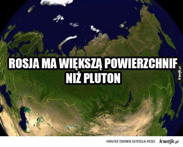 Rosja vs Pluton