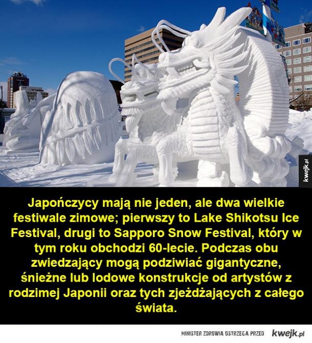 Zimowe festiwale w Japonii