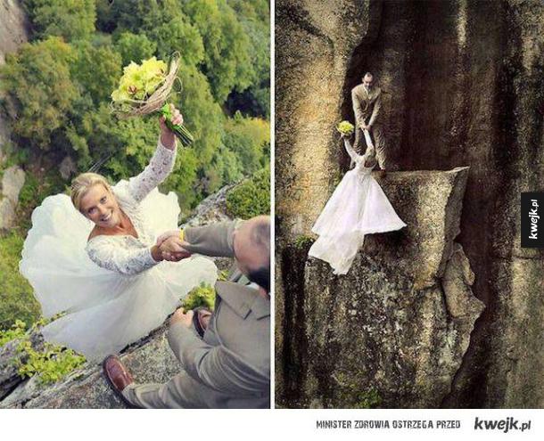 Fajna fotografia ślubna