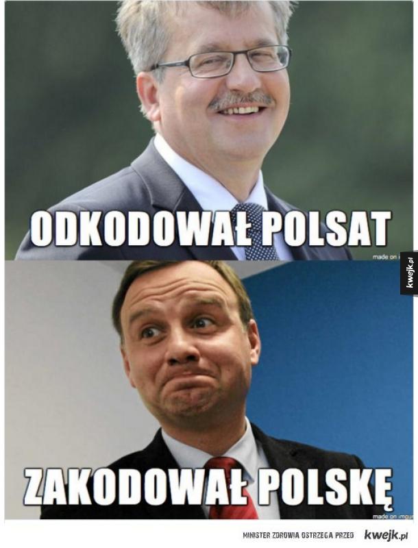 Reakcja internetu na marsz w obornie demokracji w Warszawie