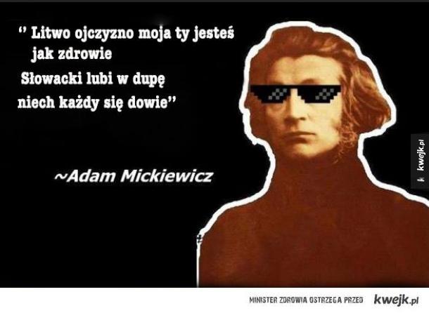 Słowacki lubi...