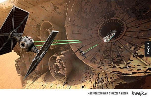 Grafiki koncepcyjne do najnowszych Gwiezdnych Wojen