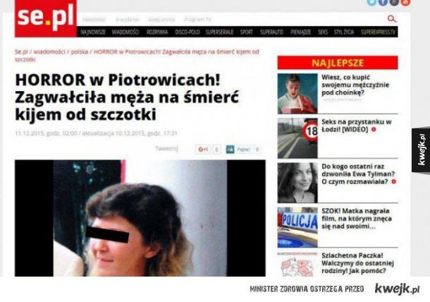 Horror w Piotrowicach!
