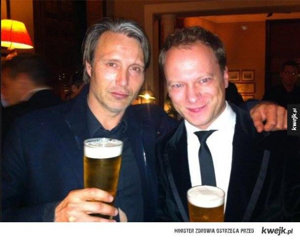 Stuhr i Mikkelsen. Rzadkie zdjęcie