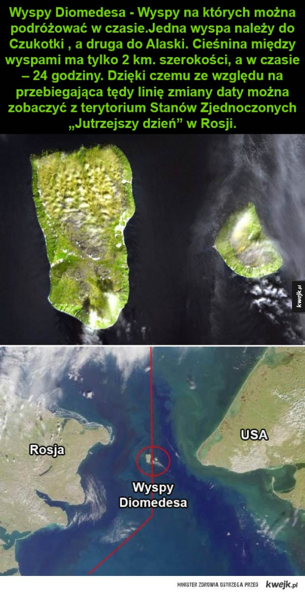 dwie wyspy
