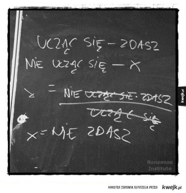 Takie równanie