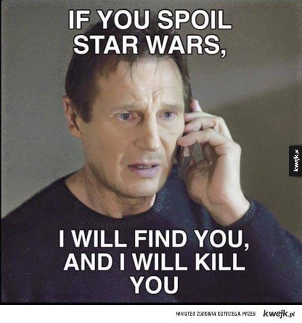 Liam Neeson ostrzega