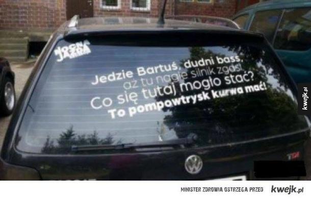 Jedzie Bartuś, jedzie!