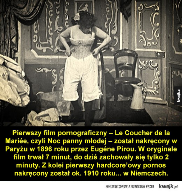 Nudity in silent films, skinny females topless