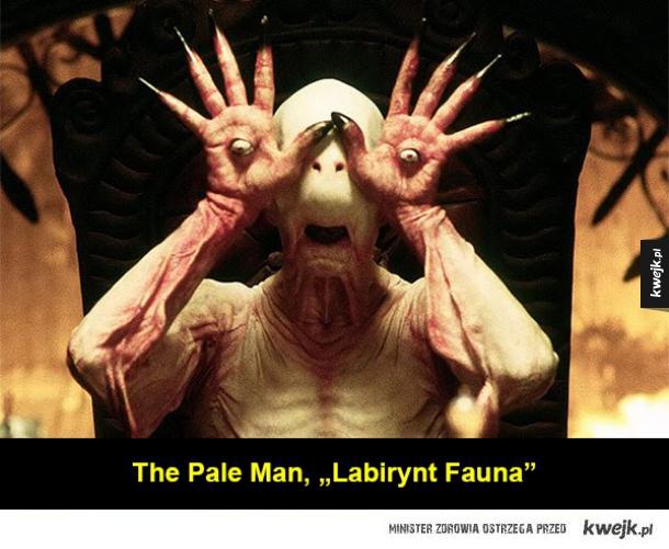 Przerażające potwory z filmów