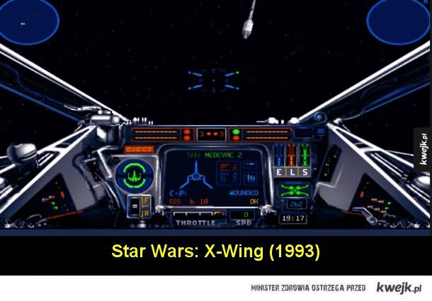 Najważniejsze gry osadzone w świecie Gwiezdnych Wojen
