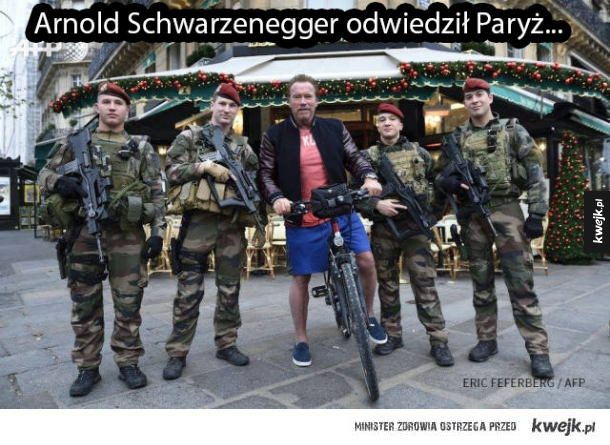 Arnold w Paryżu