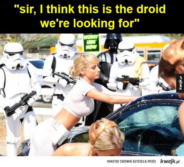 the droid we're looking for