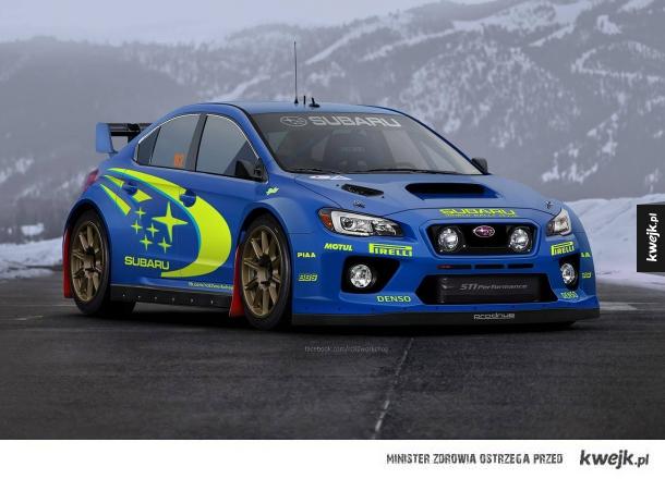 Subaru WRC Conept