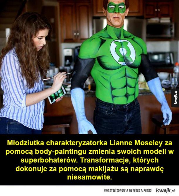 Metamorfozy w superbohaterów