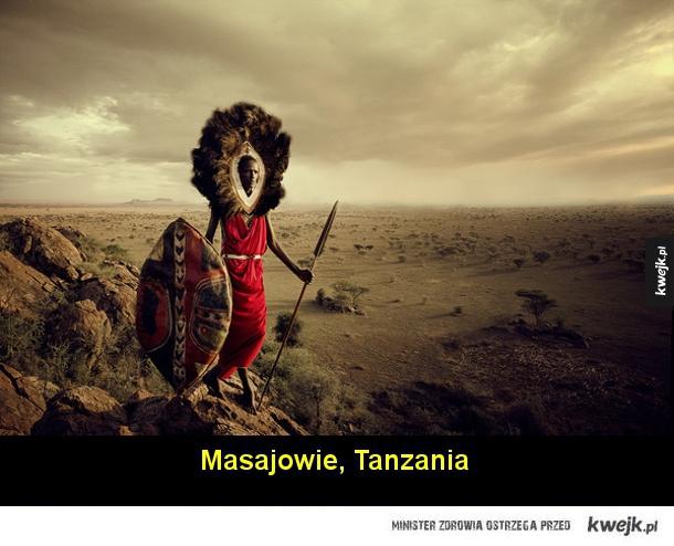 Plemiona z całego świata na fotografiach Jimmy'ego Nelsona
