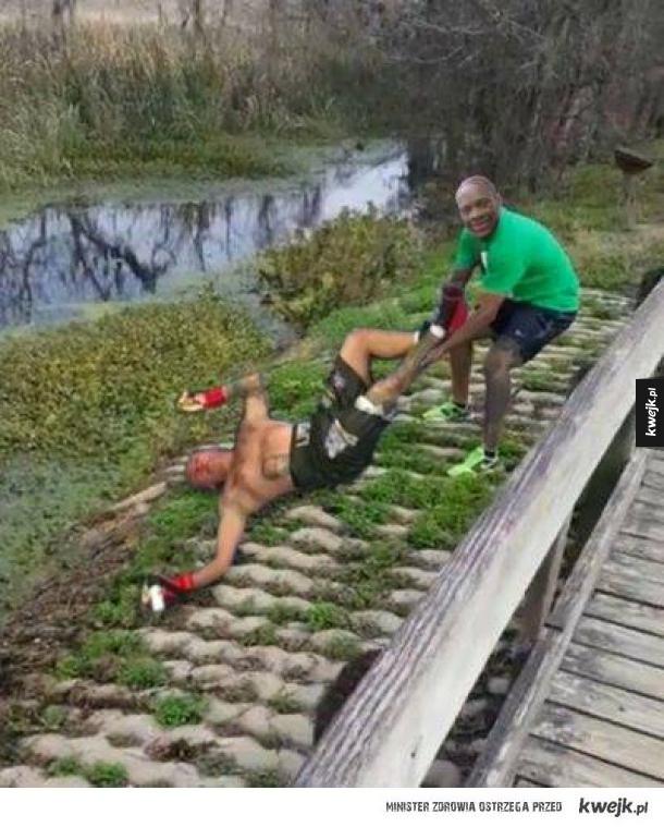 Pomścił aligatora