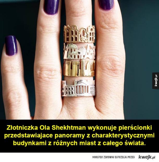 Architektoniczna biżuteria
