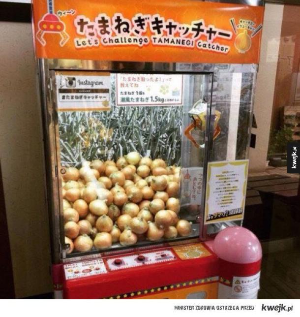 Automat z cebulą