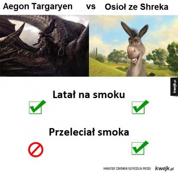 Targaryen vs Osioł