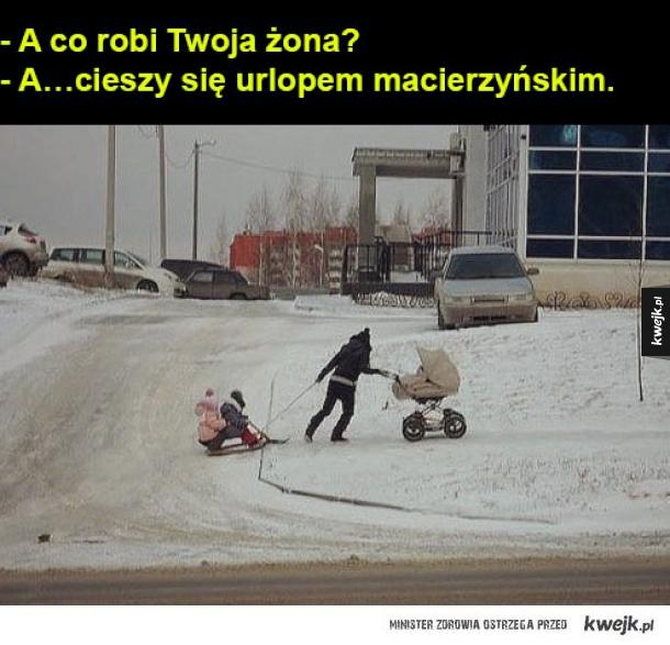 urlop macierzyński