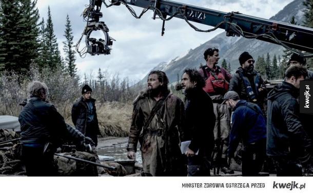 Zdjęcia z planu Zjawy, najnowszego filmu z Leonardo DiCaprio