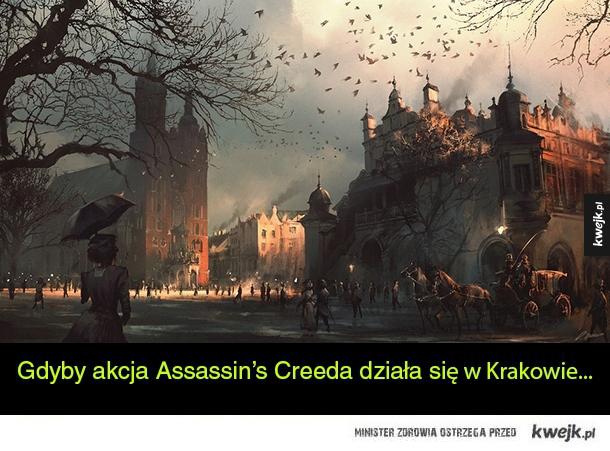 Assassin's Creed w Krakowie