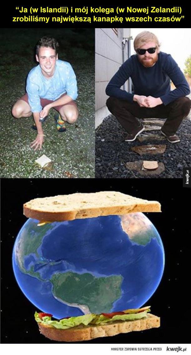 Największa kanapka