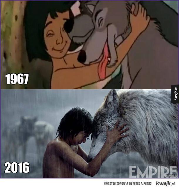 Księga dżungli kiedyś i dziś