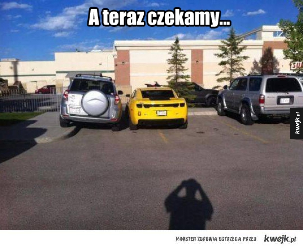 Sposób na parkingowego dupka