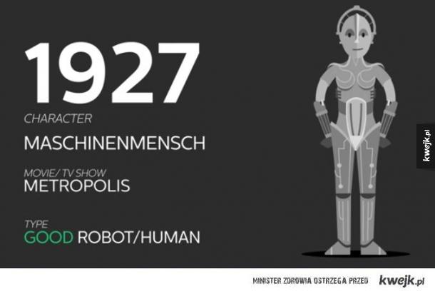 Jak na przestrzeni lat zmieniały się roboty w filmach i serialach