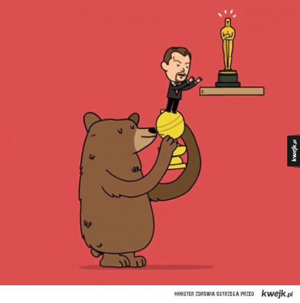 Niedźwiedź ze Zjawy bohaterem!