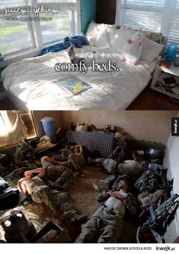 Prawdzie życie żołnierza