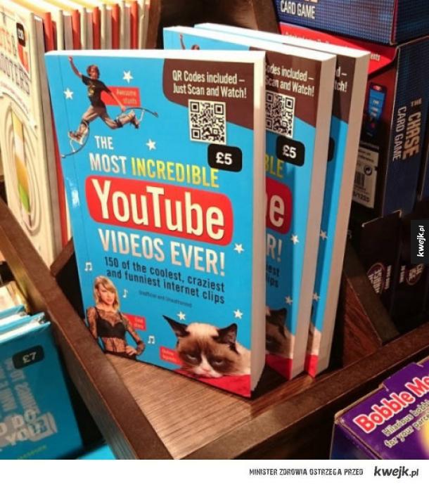 Książka o filmikach z Youtuba?!