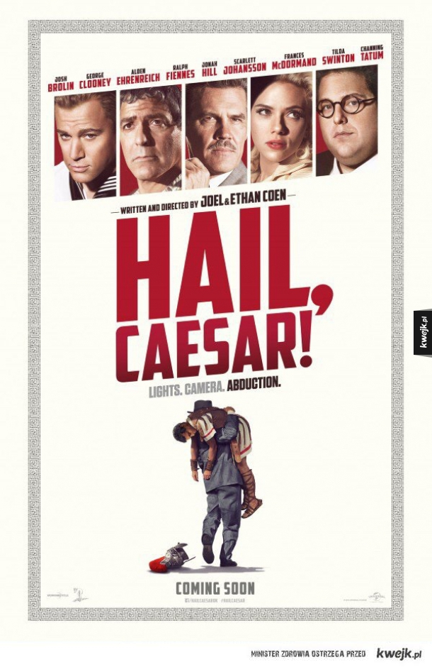 Oficjalny plakat nowego filmu braci Coen