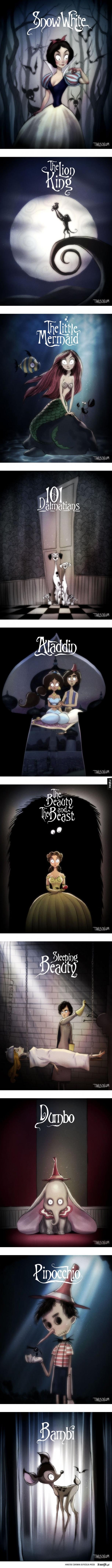 Gdyby Tim Burton pracował dla Disneya
