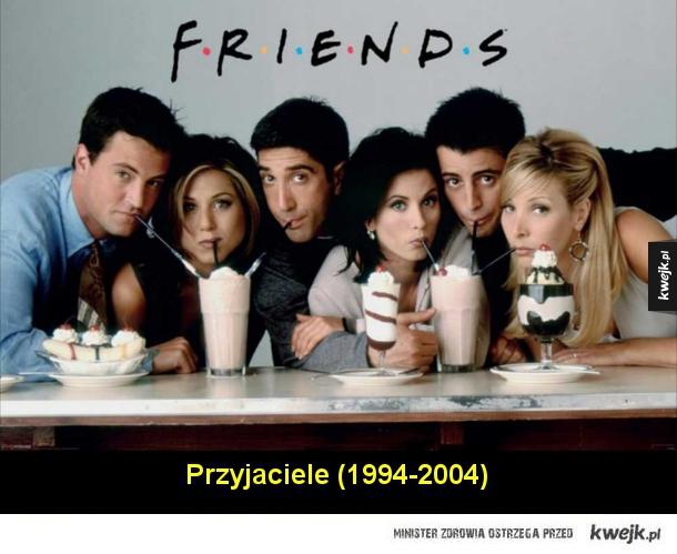 Kultowe seriale z lat '80 i '90