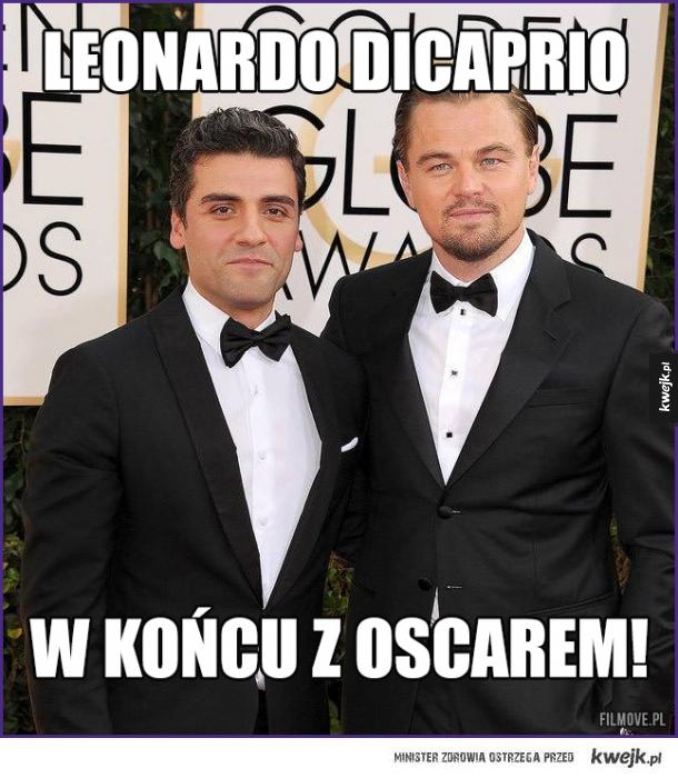 Leonardo Dicaprio w końcu z oscarem