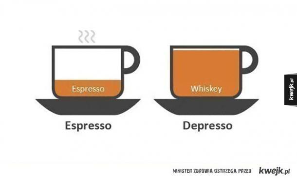 Takie espresso dla dorosłych