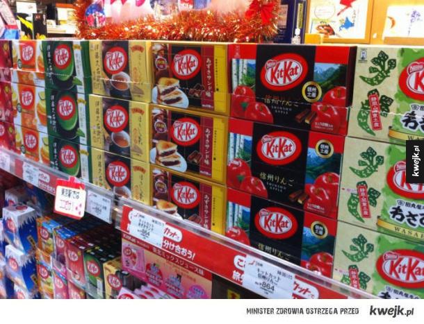Japonia ma tak wiele smaków KitKata