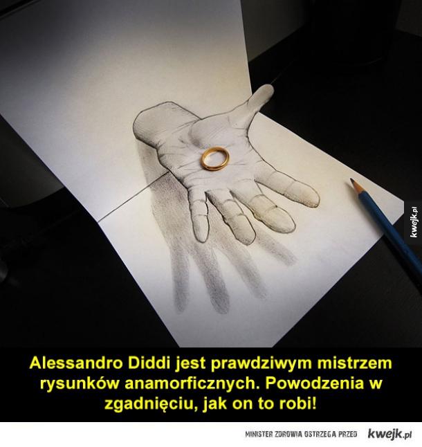 Niezwykłe iluzje Alessandra Diddi