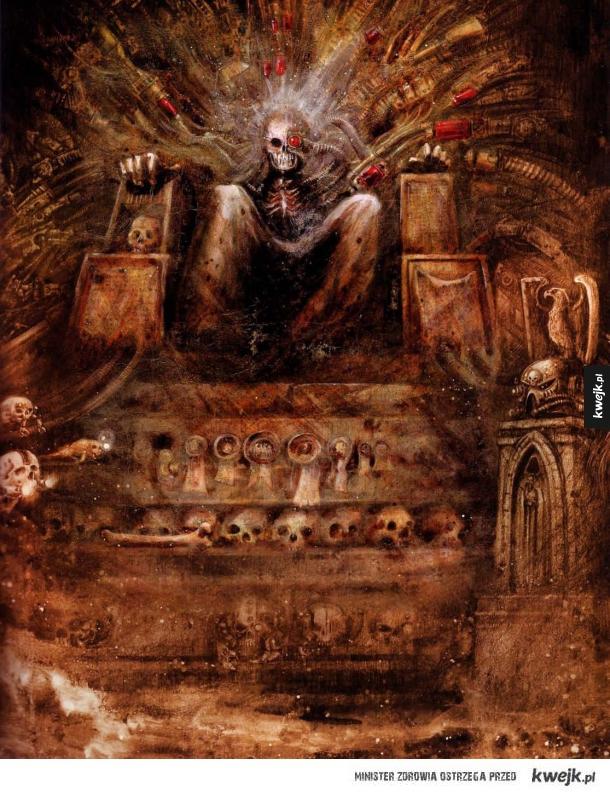 Warhammer 40,000 na grafikach Johna Blanche'a