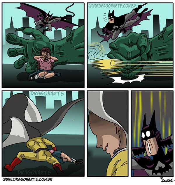 Batman zdeklasowany