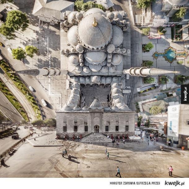 Stambuł jak z Incepcji na zdjęciach Aydına Büyüktaşa