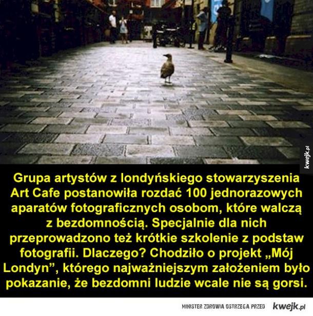 Kalendarz ze zdjęciami zrobionymi przez... bezdomnych!